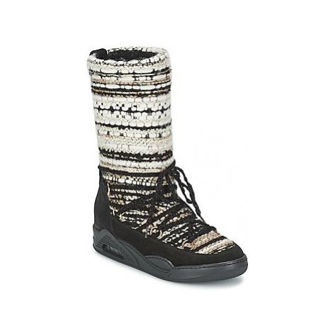 Serafini MOON HI women's High Boots in Beige