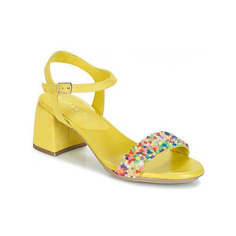 Hispanitas NEREA women's Sandals in Yellow