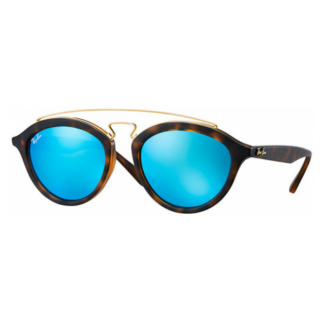 Ray-Ban Rb4257 gatsby II Women Sunglasses Lenses: Blue, Frame: Tortoise - RB4257 609255 53-19