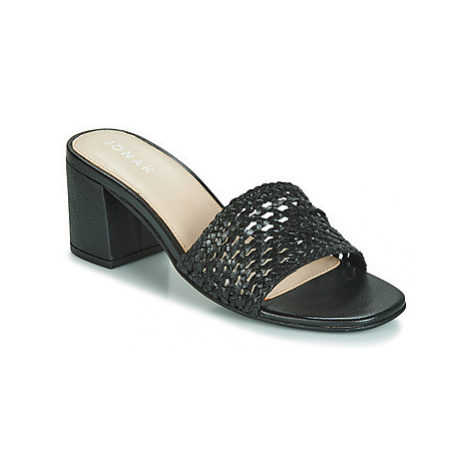 Jonak WAX women's Mules / Casual Shoes in Black