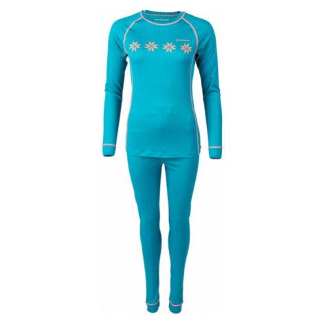 Arcore KHLOE blue - Women's thermal underwear set