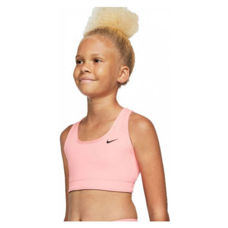 Nike NP BRA CLASSIC REV AOP G pink - Girls' reversible sports bra