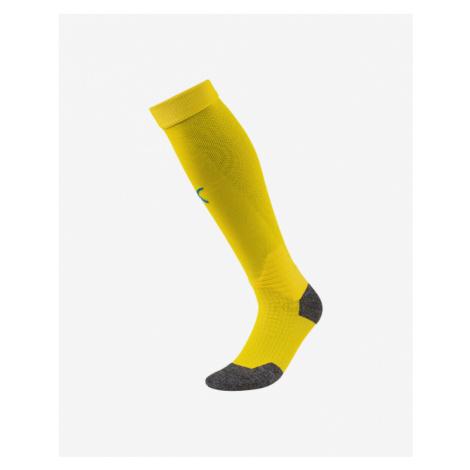 Puma Stulpny Team Liga Socks Yellow Colorful
