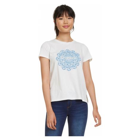 T-Shirt Desigual 19SWTK41/Manchester - 1000/Blanco - women´s
