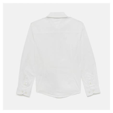 Tommy Kids Boys' Stretch Poplin Shirt - Bright White Tommy Hilfiger