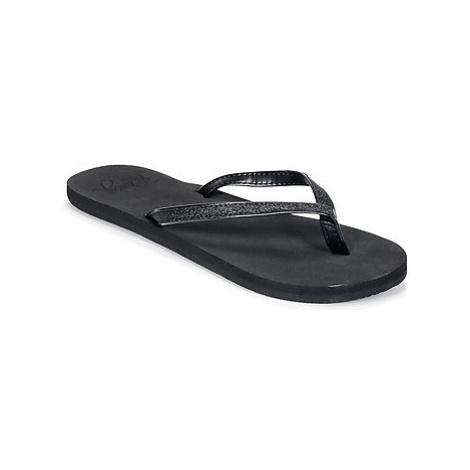 Roxy NAPILI II J SNDL BK4 women's Flip flops / Sandals (Shoes) in Black