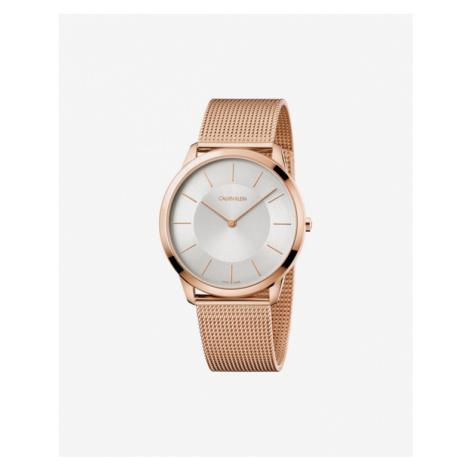 Calvin Klein Minimal Watches Gold