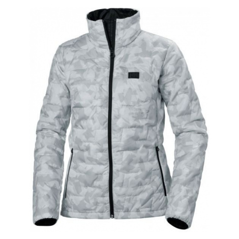 Helly Hansen LIFALOFT INSULATOR JACKET W grey - Women's winter jacket