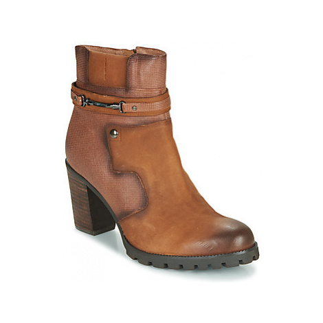 Mam'Zelle LOVER women's Low Ankle Boots in Brown