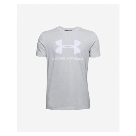 Under Armour Sportstyle Kids T-shirt Grey