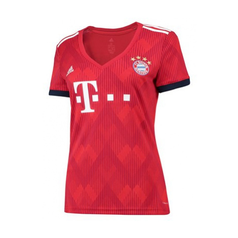 FC Bayern Home Shirt 2018-19 - Womens Adidas