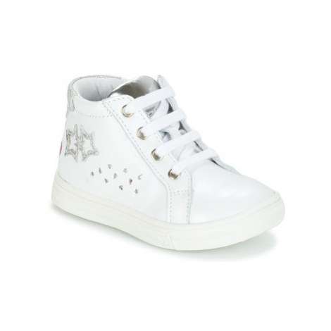 GBB SERAPHINE girls's Children's Shoes (High-top Trainers) in White