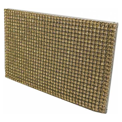 Marina Card Holder, Golden Swarovski