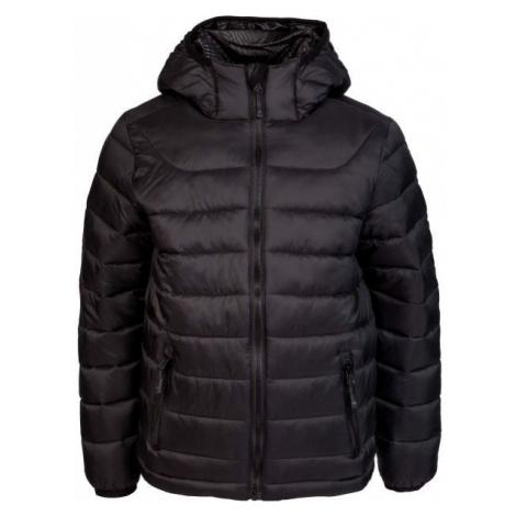 Black boys' sports winter jackets