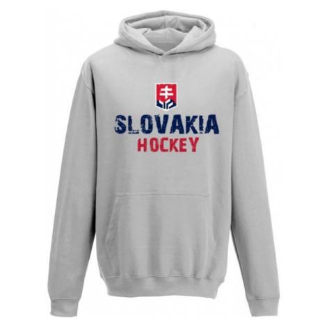 Střída KANGAROO HOODIE SLOVAKIA HOCKEY grey - Children's hoodie