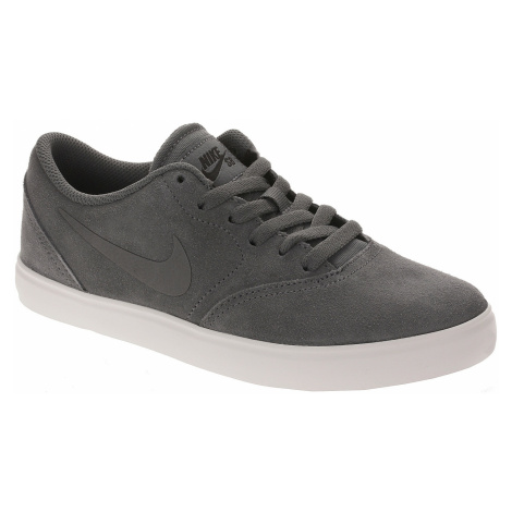 shoes Nike SB Check Suede GS - Dark Gray/Dark Gray/Black/Summit White - unisex junior