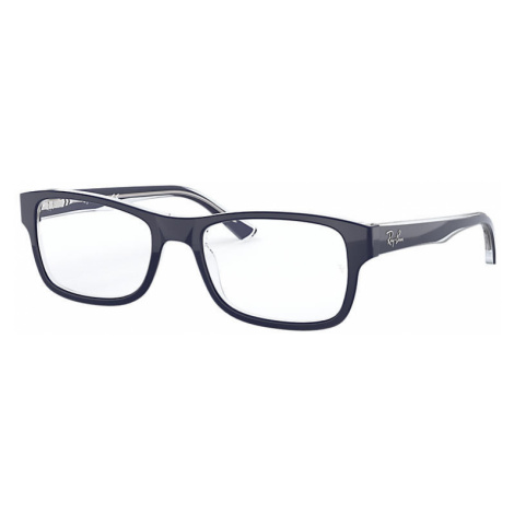 Ray-Ban Rb5268 Unisex Optical Lenses: Multicolor, Frame: Blue - RB5268 5739 55-18