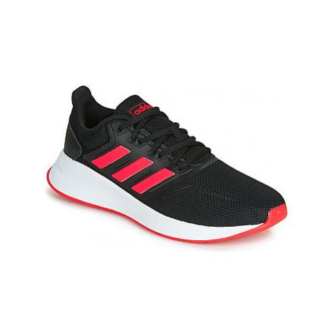 Adidas RUNFALCON women's Shoes (Trainers) in Black