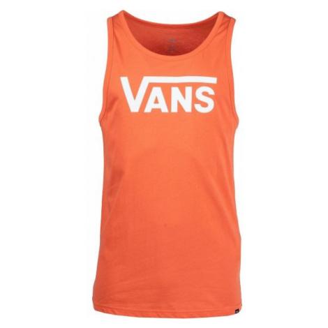 Vans MN VANS CLASSIC TANK orange - Men's tank top