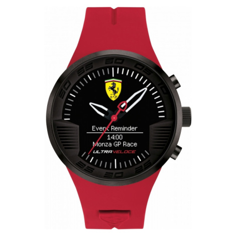 Mens Scuderia Ferrari Connect Hybrid Alarm Watch 0830374