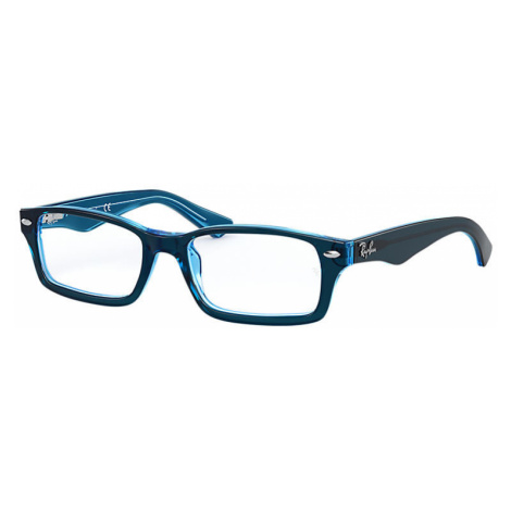 Ray-Ban Rb1530 Unisex Optical Lenses: Multicolor, Frame: Blue - RB1530 3667 48-16