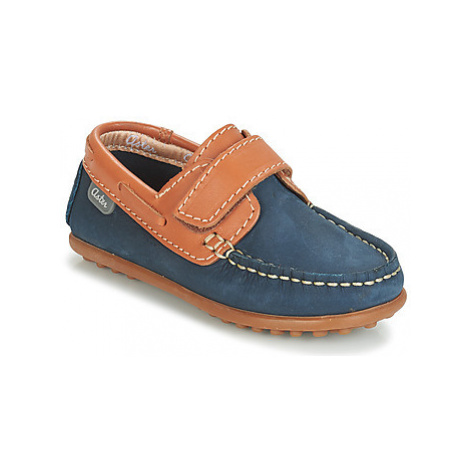 Aster MICADO boys's Children's Loafers / Casual Shoes in Blue