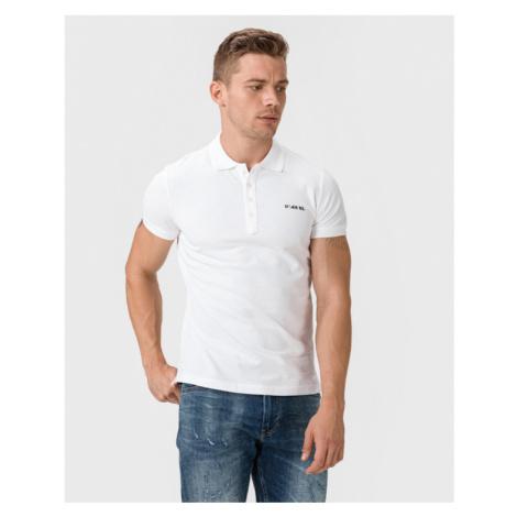 Diesel Heal Broken Polo T-shirt White