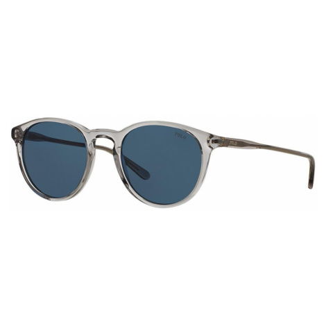 Polo Ralph Lauren Man PH4110 - Frame color: Grey, Lens color: Blue, Size 50-21/145