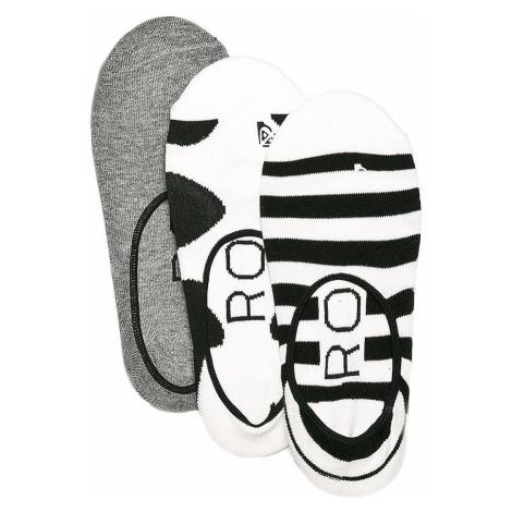 socks Roxy Liner 3 Pack - KVJ0/Anthracite - women´s