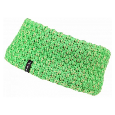 Finmark Winter headband green - Winter headband