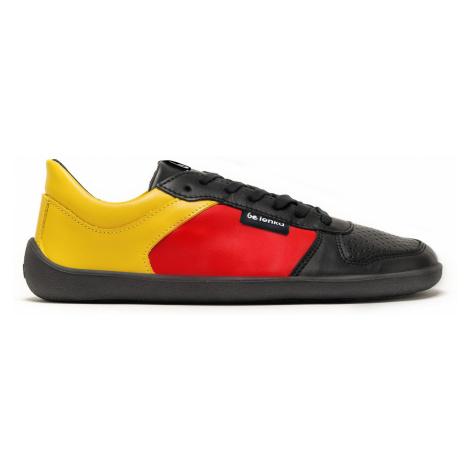 Barefoot Sneakers - Be Lenka Champ - Patriot - Black, Red & Gold 35