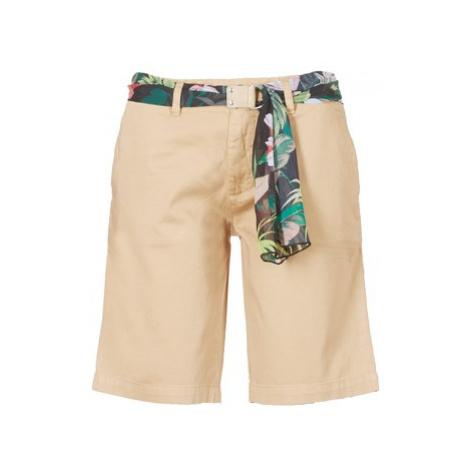 Guess BENARIO women's Shorts in Beige