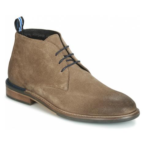 Schmoove PILOT-DESERT men's Mid Boots in Beige