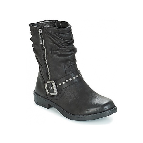MTNG KARMA women's Mid Boots in Black
