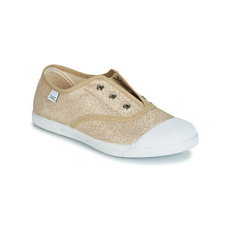 Citrouille et Compagnie RIVIALELLE girls's Children's Shoes (Trainers) in Gold