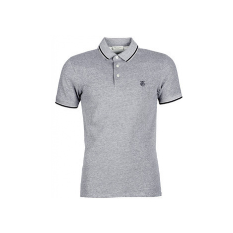 Selected SLHTWIST men's Polo shirt in Grey