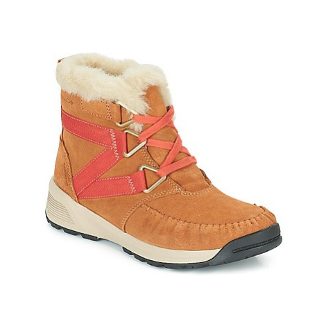 Columbia MARAGAL MID WP women's Snow boots in Brown