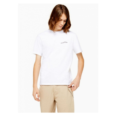 Mens Element White Twists And Turns Logo T-Shirt*, White