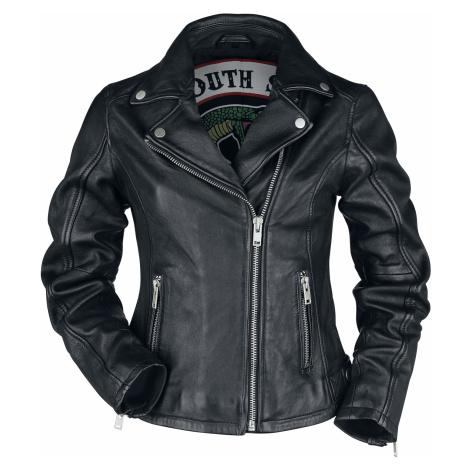 Riverdale - South Side Serpents - Girls leather jacket - black