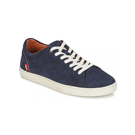 Levis VERNON men's Shoes (Trainers) in Blue Levi´s