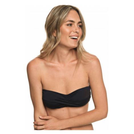 Roxy SD BEACH CLASSICS REG BANDEAU black - Women's string bikini top