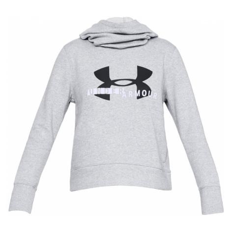 Cotton Fleece Sportstyle Logo Hoody Women Under Armour