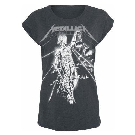 Metallica - Raining Light - Girls shirt - grey