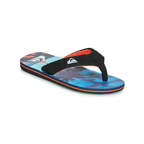 Quiksilver MOLOKAI LAYBACK YTH B SNDL XKNB girls's Children's Flip flops / Sandals in Black