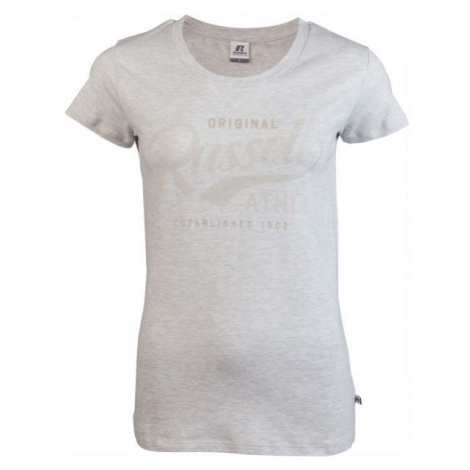 Russell Athletic ORIGINAL S/S CREWNECK TEE SHIRT grey - Women's Tee - Russell Athletic