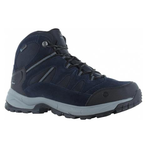 Hi-Tec Mens Bandera Lite Waterproof Walking Boots-Sky Captain / Monument / Black-13