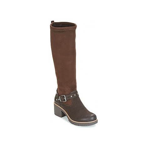 Coolway GRETTA women's High Boots in Brown
