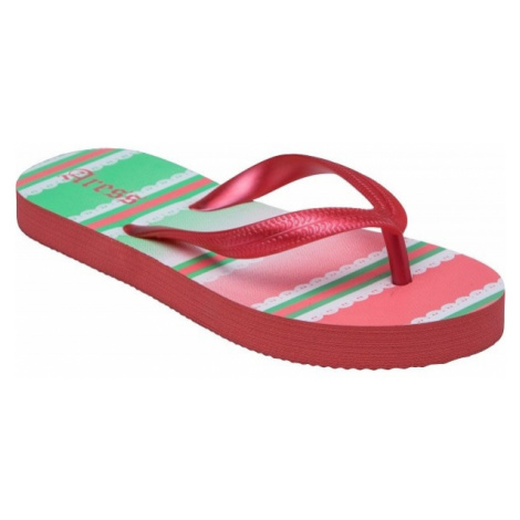 Aress ZAYDA red - Kids' flip-flops