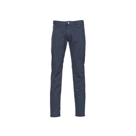 Emporio Armani TAMWOLE men's Skinny Jeans in Blue