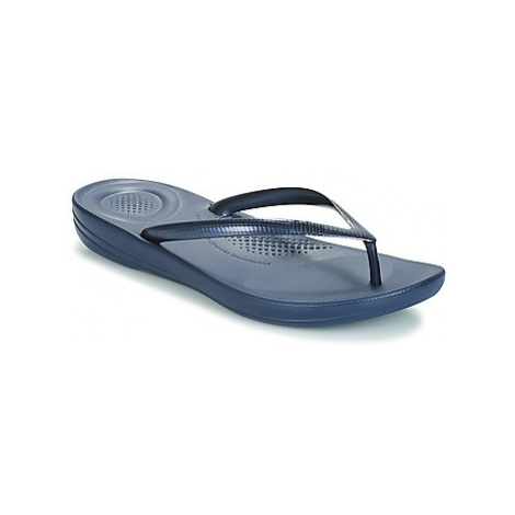 FitFlop IQUSHION women's Flip flops / Sandals (Shoes) in Blue